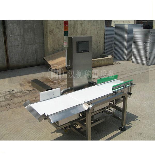 日化产品用0-500g带报警动态检重秤报价 在线检测用动态分选秤