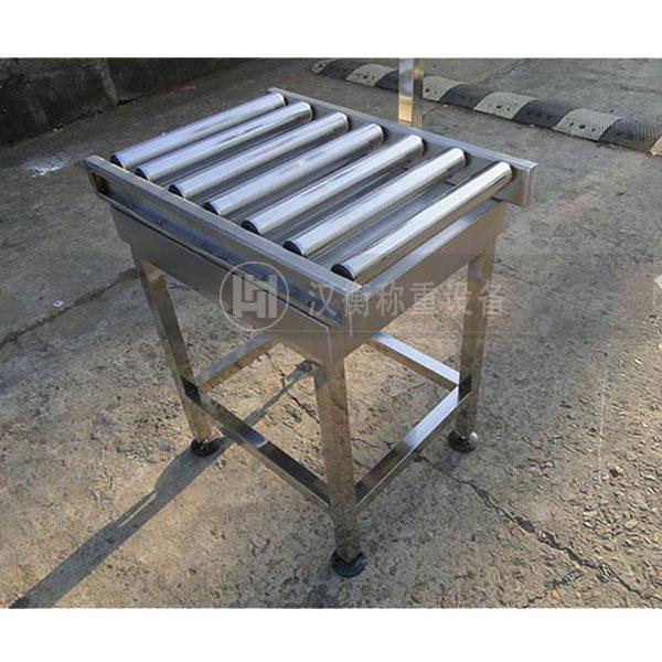 电子厂用30kg不锈钢滚筒秤 30公斤滚轮电子秤价格