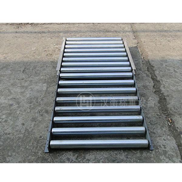 物流行业用20公斤带斜坡滚筒秤哪家好 滚筒电子秤厂家