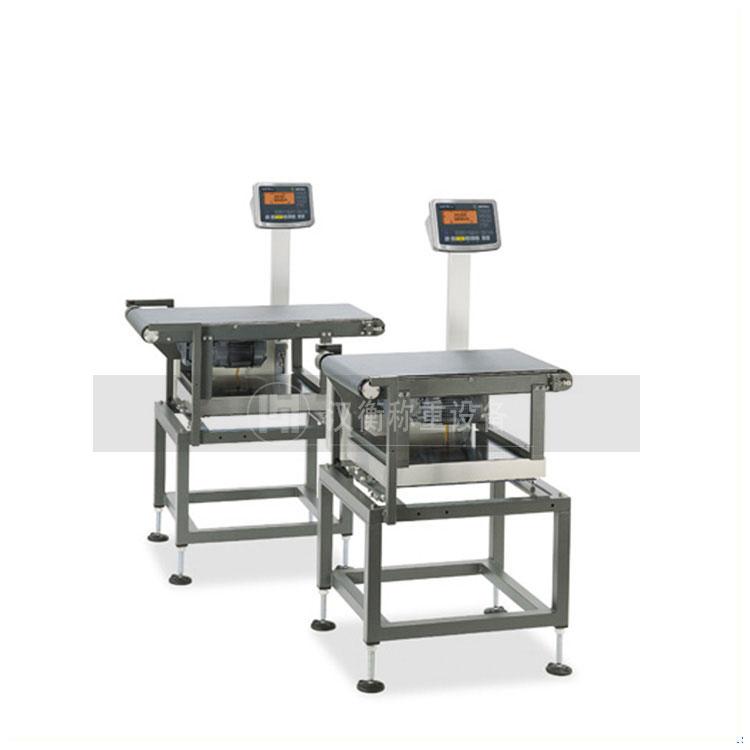 休闲食品检重秤 高精度自动检重秤 重量检测机厂家