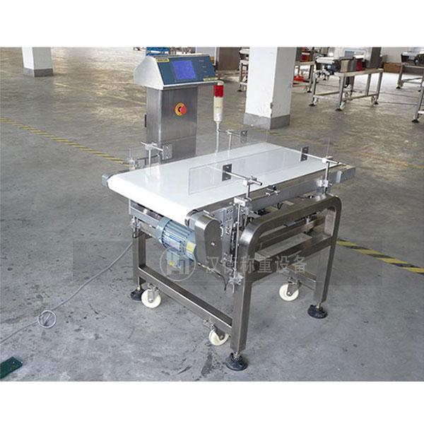 日化产品用高精度带报警检重秤 自动检重秤 在线称重机厂家